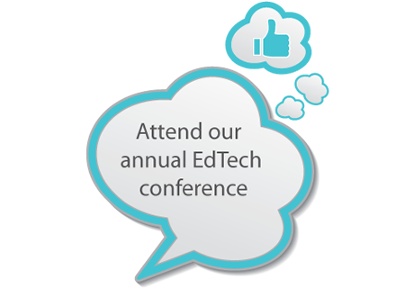 Attend our annual EdTech conference