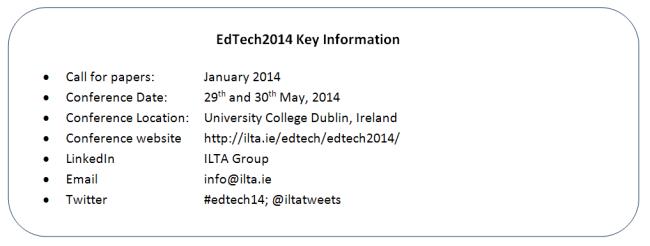 EdTech2014_KeyInfo