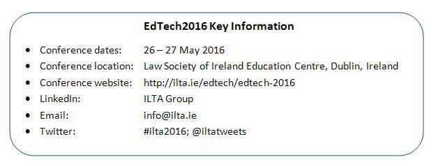 EdTech2016_KeyInformation