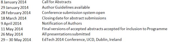 key dates edtech 2014 authors_may2014